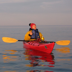 Kayaking-Lake-Superior-Grand-Marais-having-fun