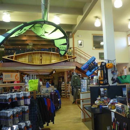 Interior picture of Stone Harbor Wilderness Supply, Grand Marais, MN