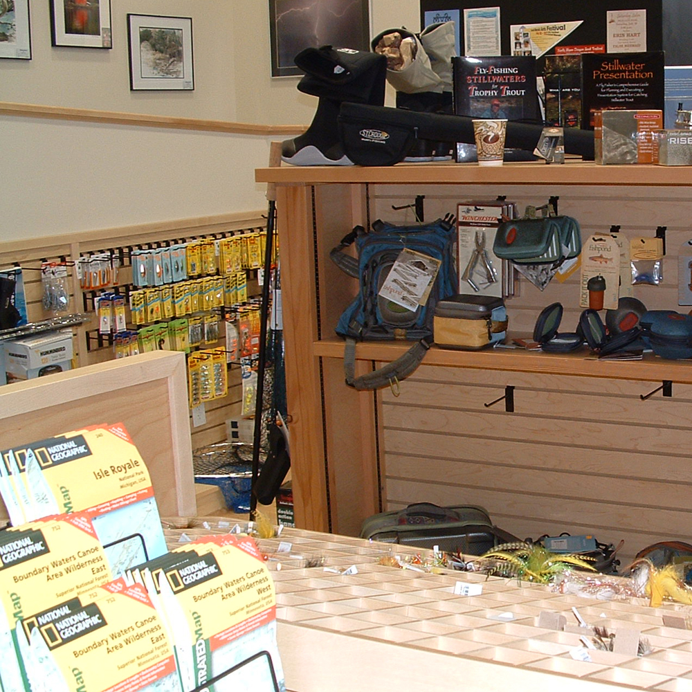 Grand opening events at stone harbor wilderness supply for Rent fishing gear