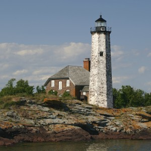 Picture of Menagerie Lighthouse on Isle Royale