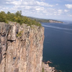 Rock Climbing Palisade Head Minnesota