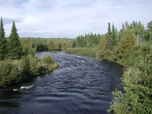 Picture of North Brule River in Northern Minnesota