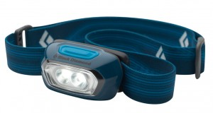 Picture of a blue Gizmo Headlamp made by Black Diamond