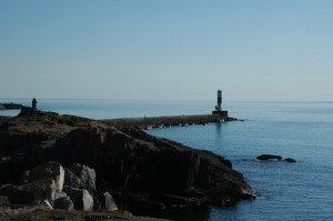 Picture of Grand Marais waterfront