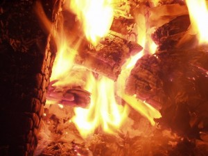 picture of a campfire