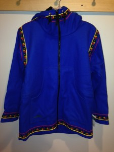 Picture of a blue Wintergreen Northern Wear anorak