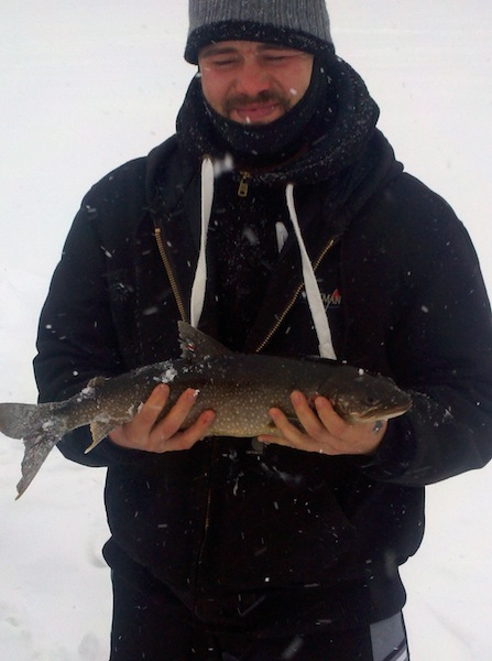 Winter trout fishing is back stone harbor wilderness supply for Winter trout fishing