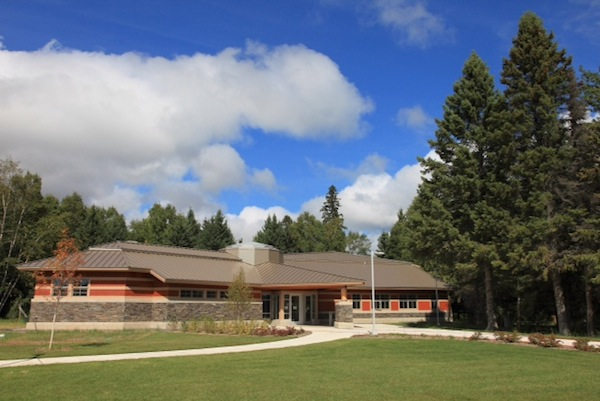 Picture of the Grand Portage Visitor Center