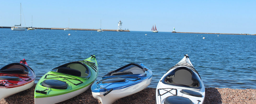 North Shore Water Festival Grand Marais MN Kayaks