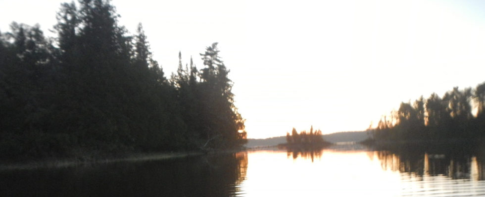 Picture of Lake Saganaga in the BWCAW of Minnesota