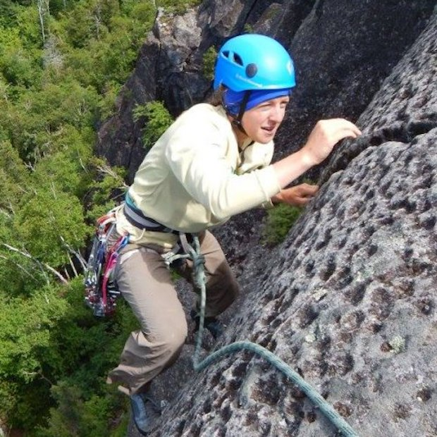 Rock Climbing on the North Shore of Minnesota