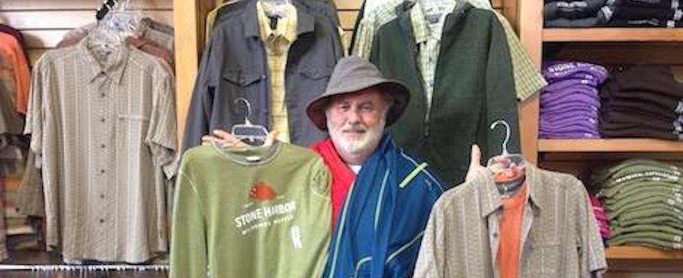 Picture of Jack showing off some of our great menswear